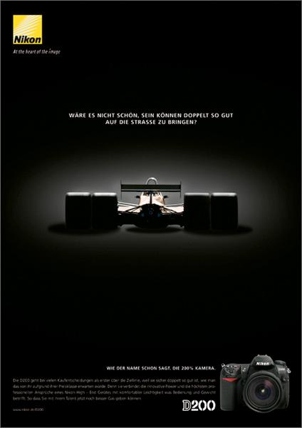 Nikon D200 Ad