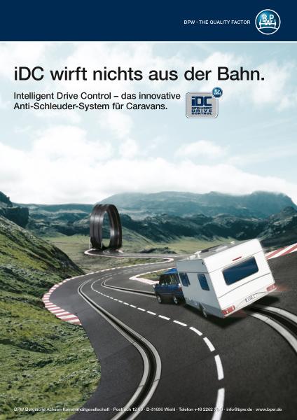 Bergische Achsen – iDC-Anzeige