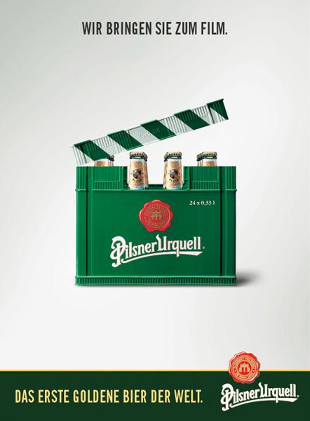 Pilsner Urquell Kinopromotion
