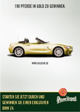 Pilsner Urquell Z4-Promotion