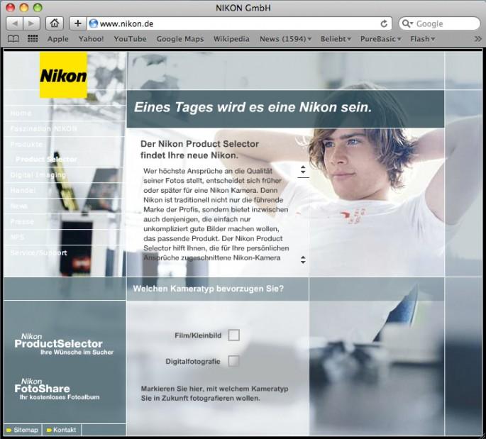 Nikon Homepage