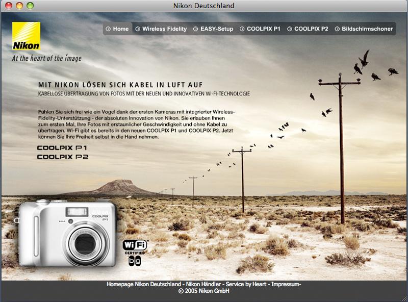 Nikon WiFi Microsite 1