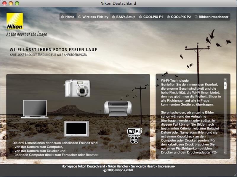 Nikon WiFi Microsite 2