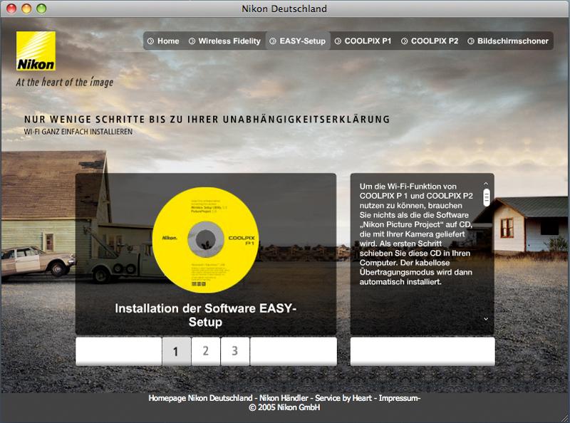 Nikon WiFi Microsite 3