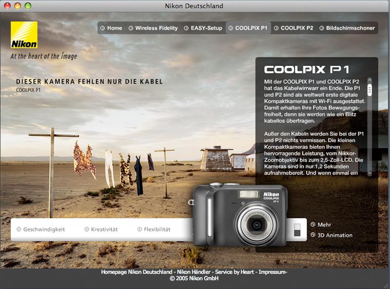 Nikon WiFi Microsite 4