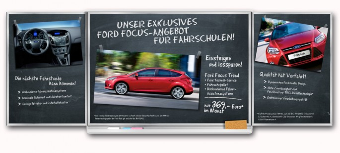 Ford Fahrschul Mailing