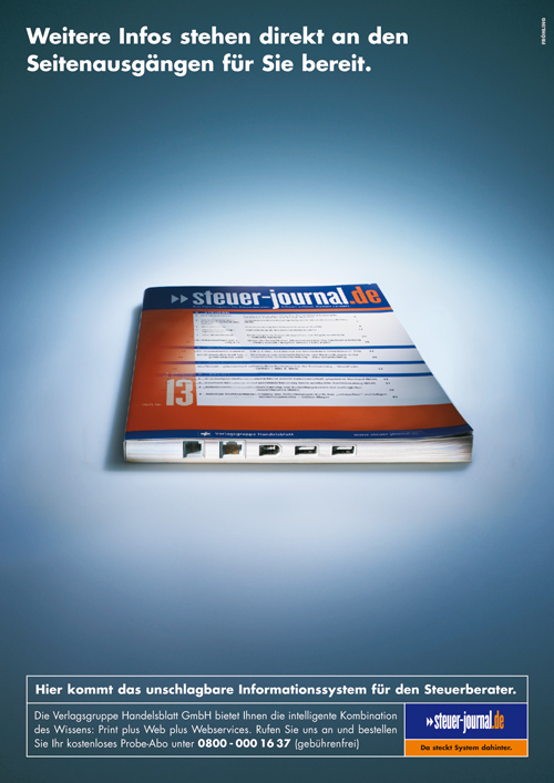 Steuerjournal - Handelsblatt - Notebook