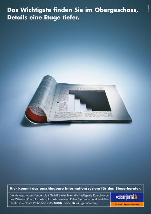 Steuerjournal - Handelsblatt - Treppe
