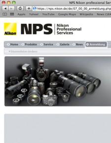 Nikon NPS thumb