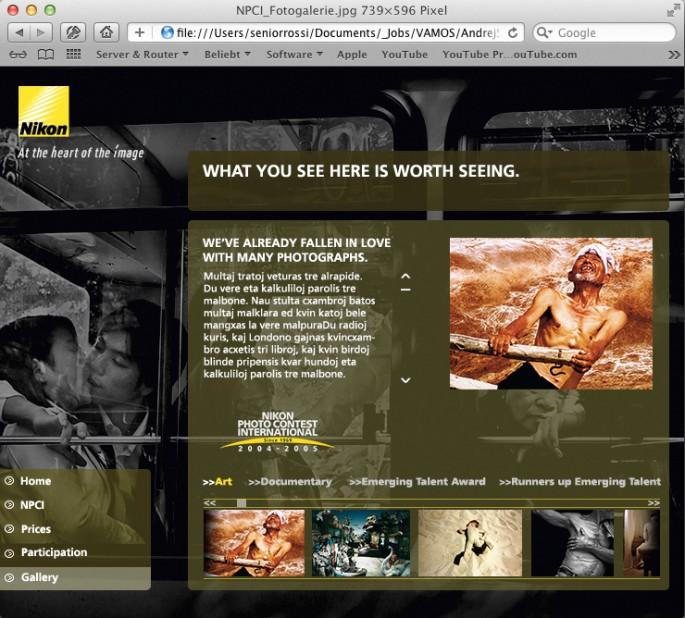 www Nikon-Photokina Gallerie