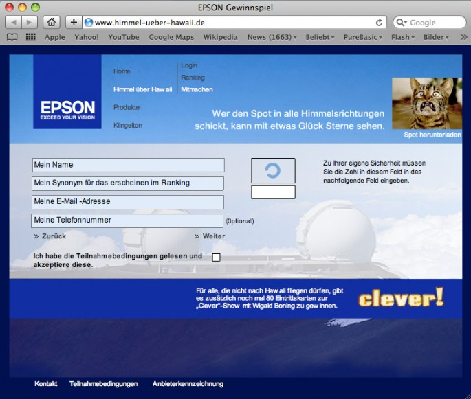Epson Online Promotion