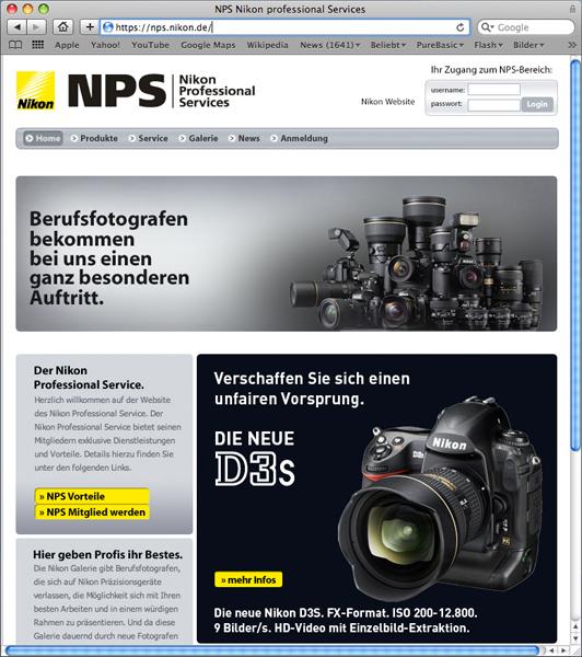 www nikon nps 2