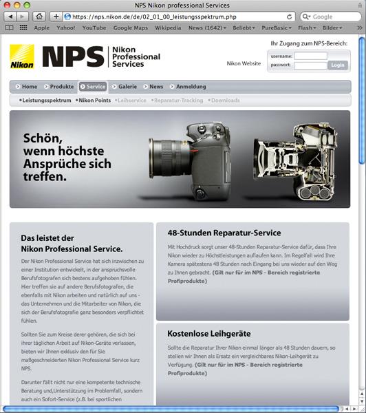 www nikon nps 3