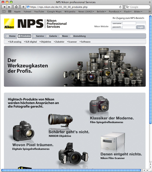 www nikon nps 4