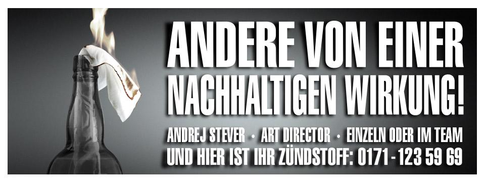 Andrej Stever – Freier Creative Director / Art Director / Designer in Köln & Düsseldorf